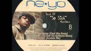 Ne Yo   So Sick Acoustic Version