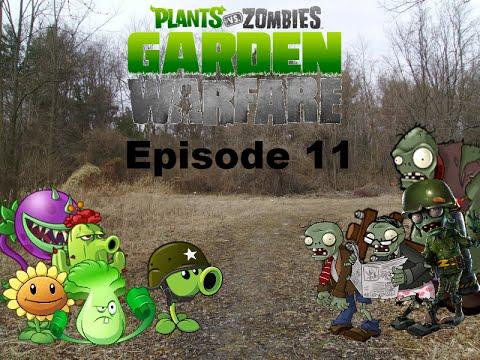 Plants Vs Zombies Garden Warfare Plush Series Episode 11 The War Youtube