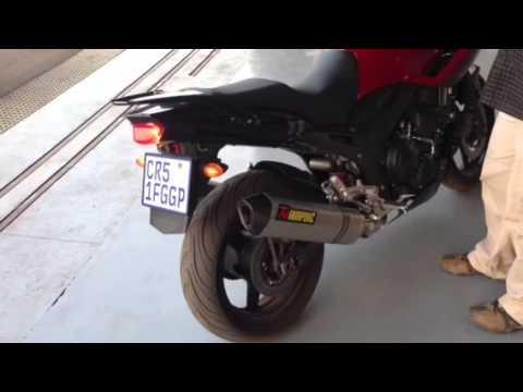 Yamaha TDM 900 Akrapovic