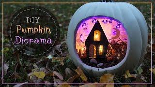 How To Make A Pumpkin Diorama 🎃   Halloween BOOtorial