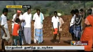 Villagers take things into their own hands at Sathyamangalam Forest Area