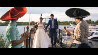 Эдгар и Ульяна 28 августа 2015 года. Свадебная команда Мёд. Жгучая Мексиканская свадьба!