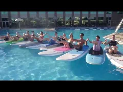 Pool Party:  SUP Yoga and Fitness Classes with DFW Surf