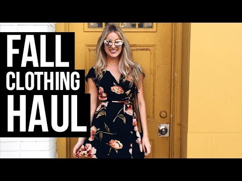 FALL CLOTHING HAUL | Try-On