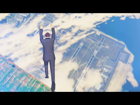 Highest Sea Dive Ever!! (GTA 5 Funny Moments)