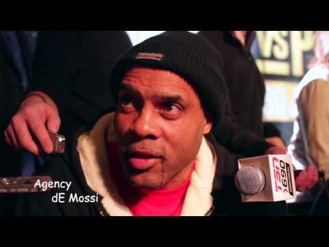 Agency dE Mossì Breaking News Kovalev vs. Pascal 2 MOSS & JACKSON On Business, Race & Solidarity