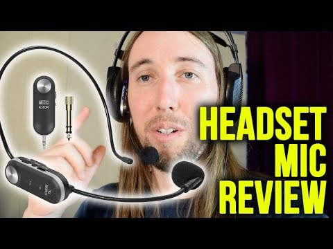 Tonor Wireless Headset Mic Review