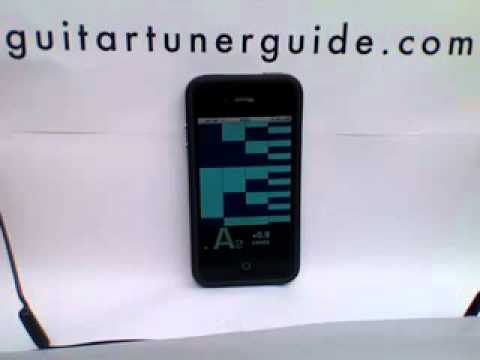 peterson istrobosoft guitar strobe tuner app for ipod iphone demo youtube. Black Bedroom Furniture Sets. Home Design Ideas