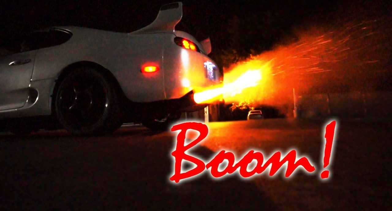 Supra 2 Step Back Fires And SHOOT FLAMES!   YouTube