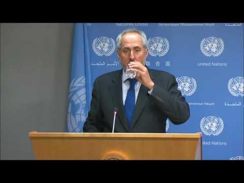 ICP Asks UN Spox of WIPO Retaliation, Cameroon, Western Sahara, CEB Costs & CAAC