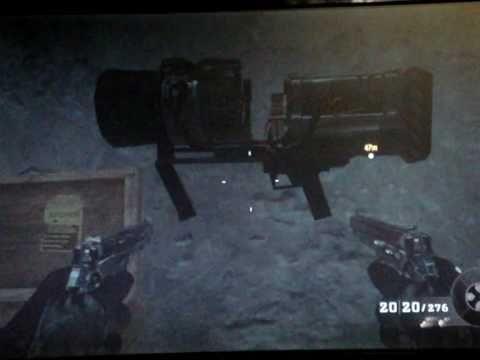 Truco Call of Duty: Black Ops, Arma Thunder en campaña x Tornikete
