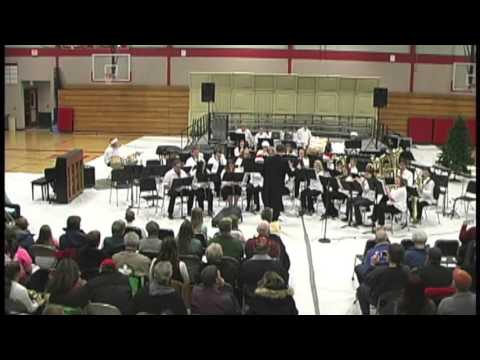 Flambeau Middle School Band Dec 17, 2015