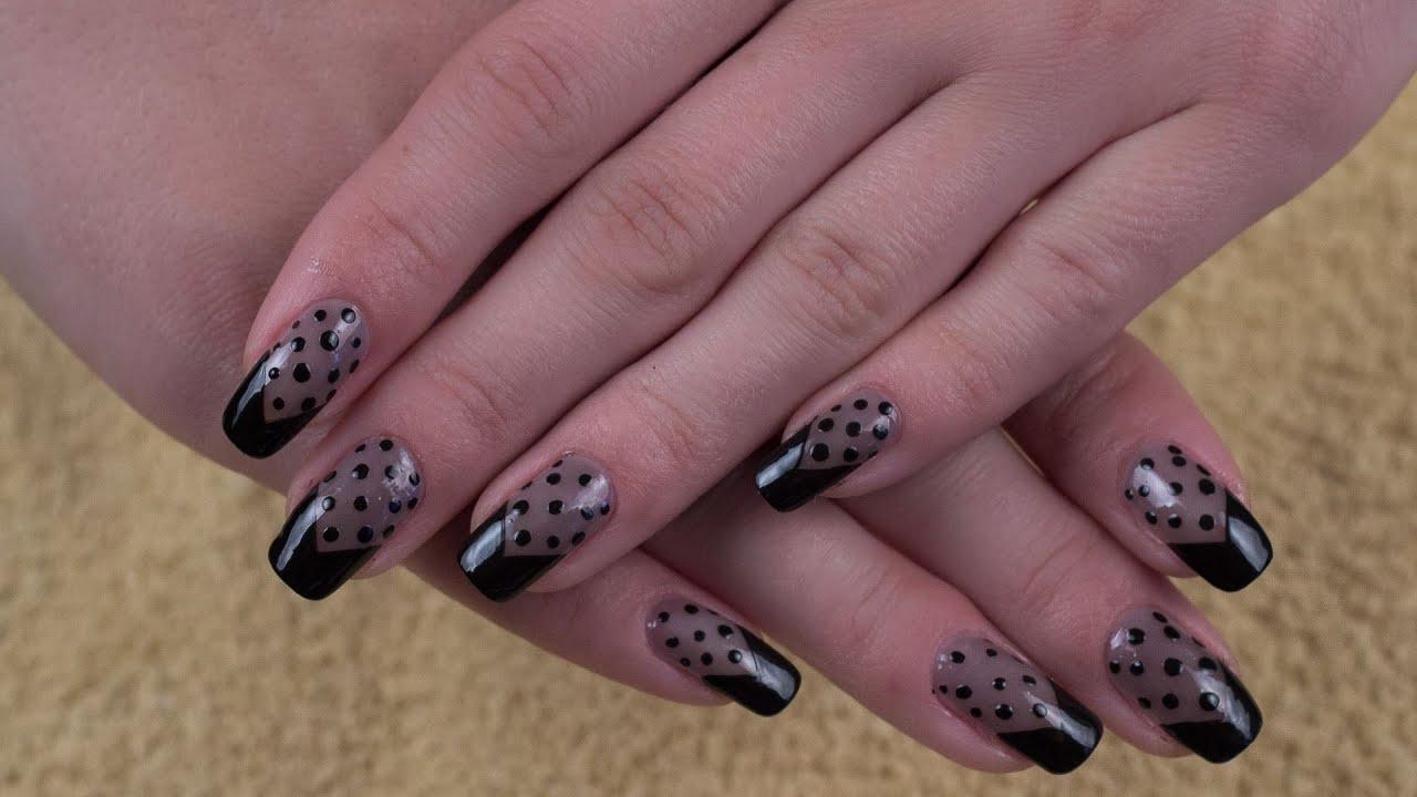 Ногти фото дизайн шторки