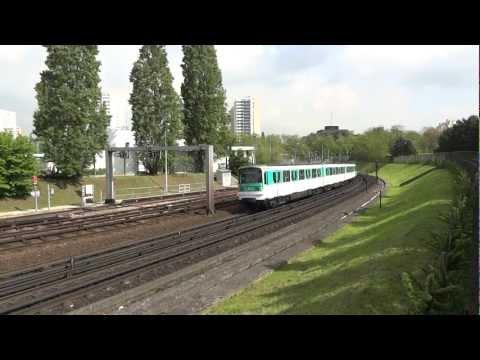 Paris Metro - Line 5 - MF 67 & MF 01 - Bobigny