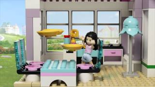 Emma's House - LEGO Friends - 41095 - Product Animation