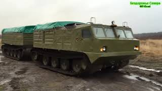 ROAD-FREE NORTH OF RUSSIA ALL-TERRAIN VEHICLE VITYAZ DT 30 SELECTION
