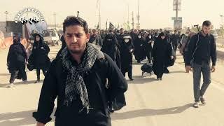 Arbaeen walk from Najaf to Karbala