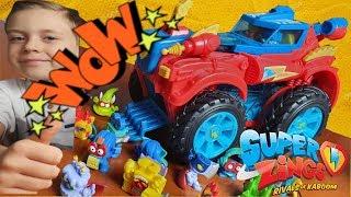 Super Zings Monster Roller - Łapiemy Złoczyńców! Unikatowe figurki!