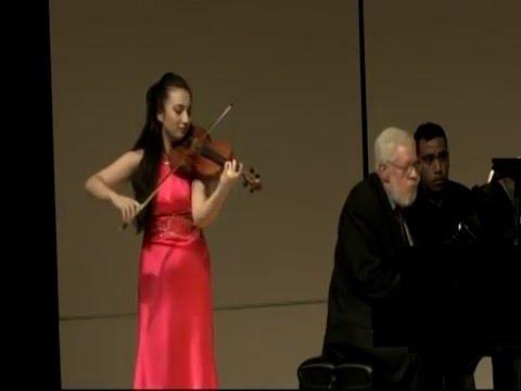 Isabella Perron -- Robert Schumann's Violin Sonata No. 1, Op. 105, Mit Leidenschaftlichem Ausdruck