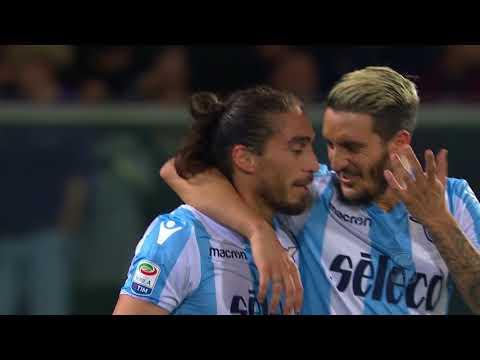 Il gol di Caceres - Fiorentina - Lazio 3-4 - Giornata 33 - Serie A TIM 2017/18