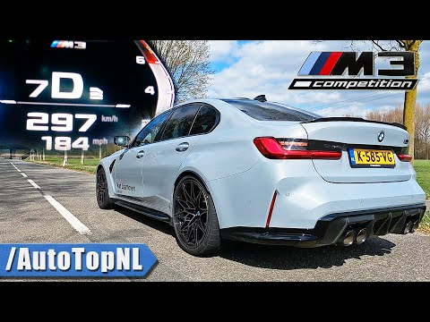 BMW M3 G80 Competition | SOUND ACCELERATION & TOP SPEED by AutoTopNL