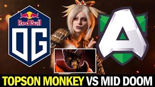 OG vs ALLIANCE — TOPSON Signature Monkey vs MID DOOM
