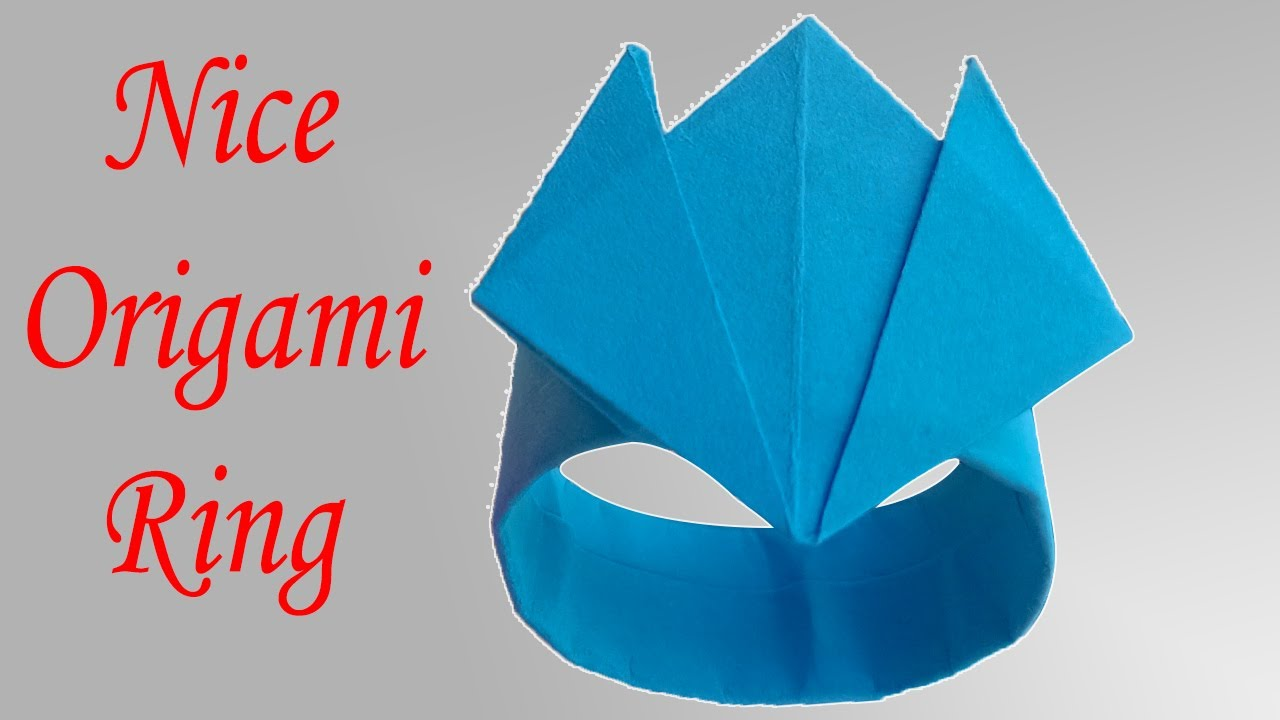 Valentines Origami – Ring with a Heart | Bambinis | 720x1280