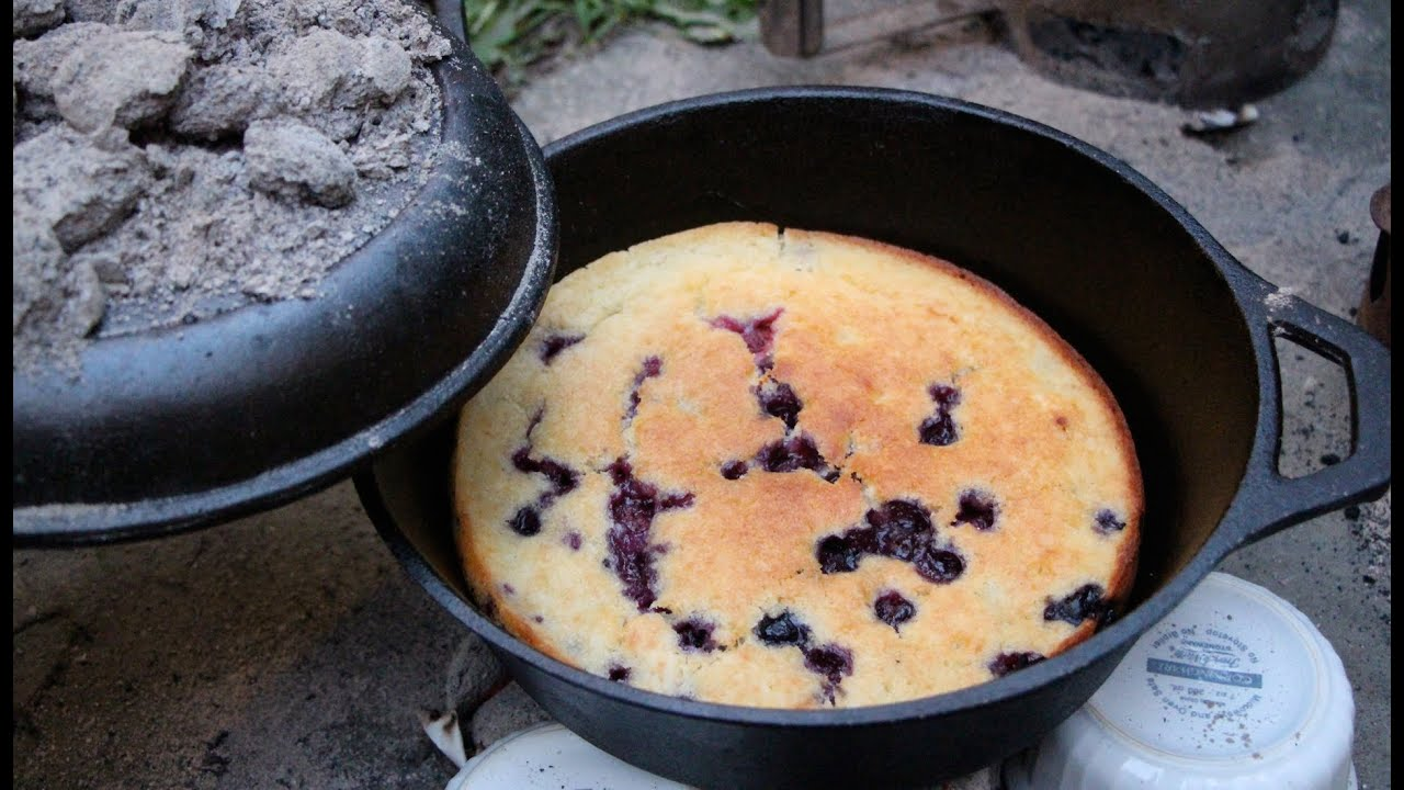 Cake Recipe For Cooking Outdoors In A Dutch Oven