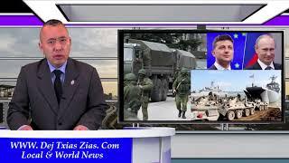5/3/21. Russia & Ukraine Yuav Sib Tua Sai/Pfizer Tsim Tshuaj Los Xav Rau Me-Nyuam Yaus/Pob Nyiaj # 4