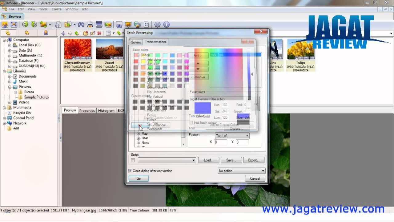 XnView - Photo Editing