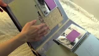 Альбом на Юбилей. Часть2. 10 способов создать секретики в альбоме ручной работы.