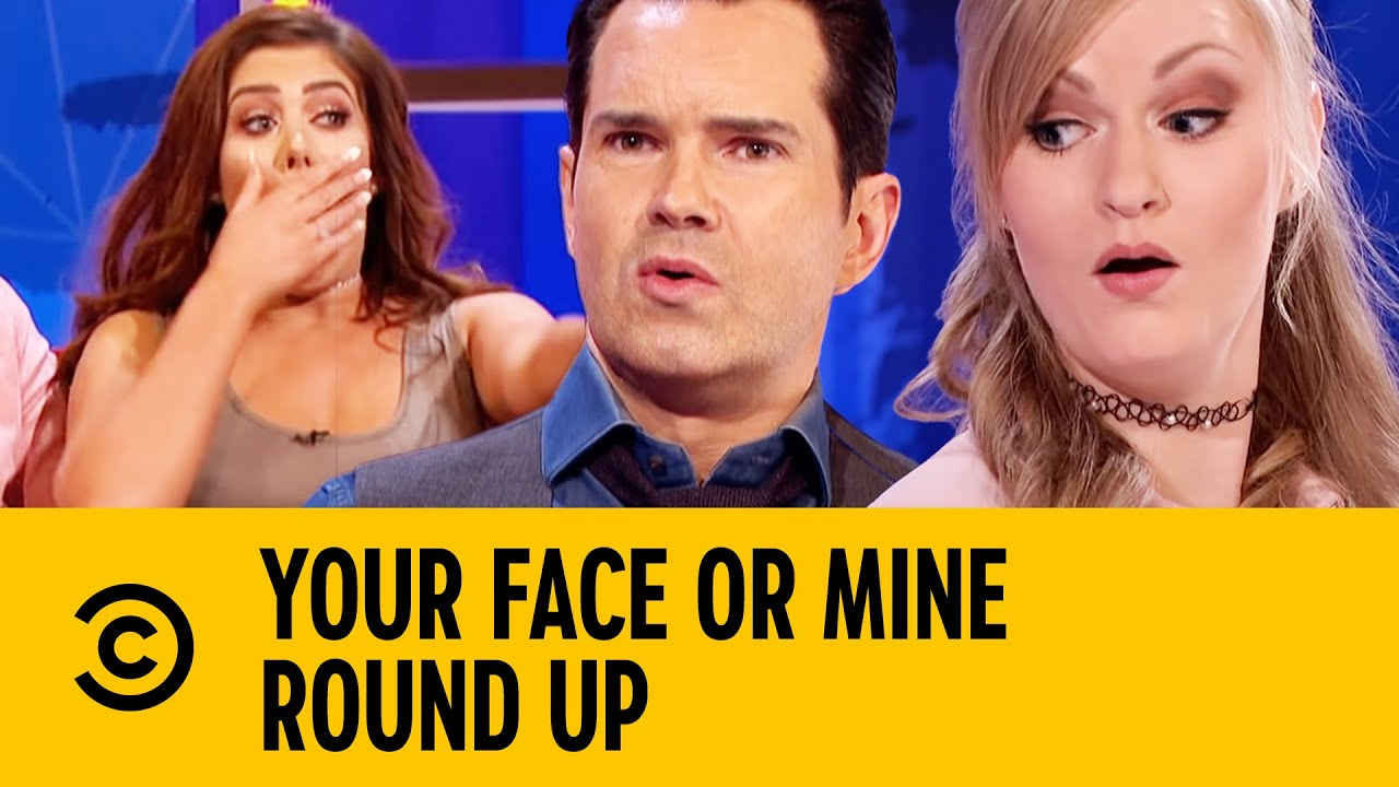 Everyone Insults Jimmy Carr | Round Up | Your Face Or Mine