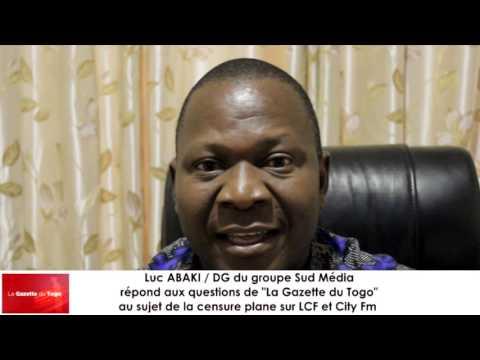 Les vérités du DG du groupe Sud Media Luc ABAKI