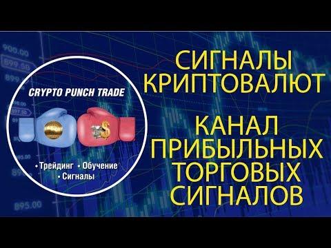 СИГНАЛЫ КРИПТОВАЛЮТ! Канал прибыльных торговых сигналов