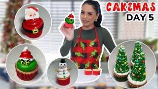 10 EASY HOLIDAY CUPCAKES! | CAKEMAS