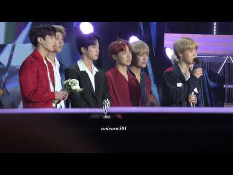 180111 BTS won the  Album of the year @GDA2018