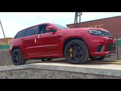 India S One And Only Grand Cherokee Trackhawk Youtube