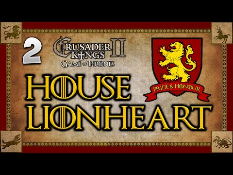 THE CONQUEST BEGINS! Game of Thrones - Crusader Kings 2: House Lionheart - Multiplayer Campaign #2