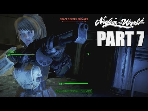 NUKABOT BATTLE ARENA - Fallout 4 Nuka World DLC PC Walkthrou