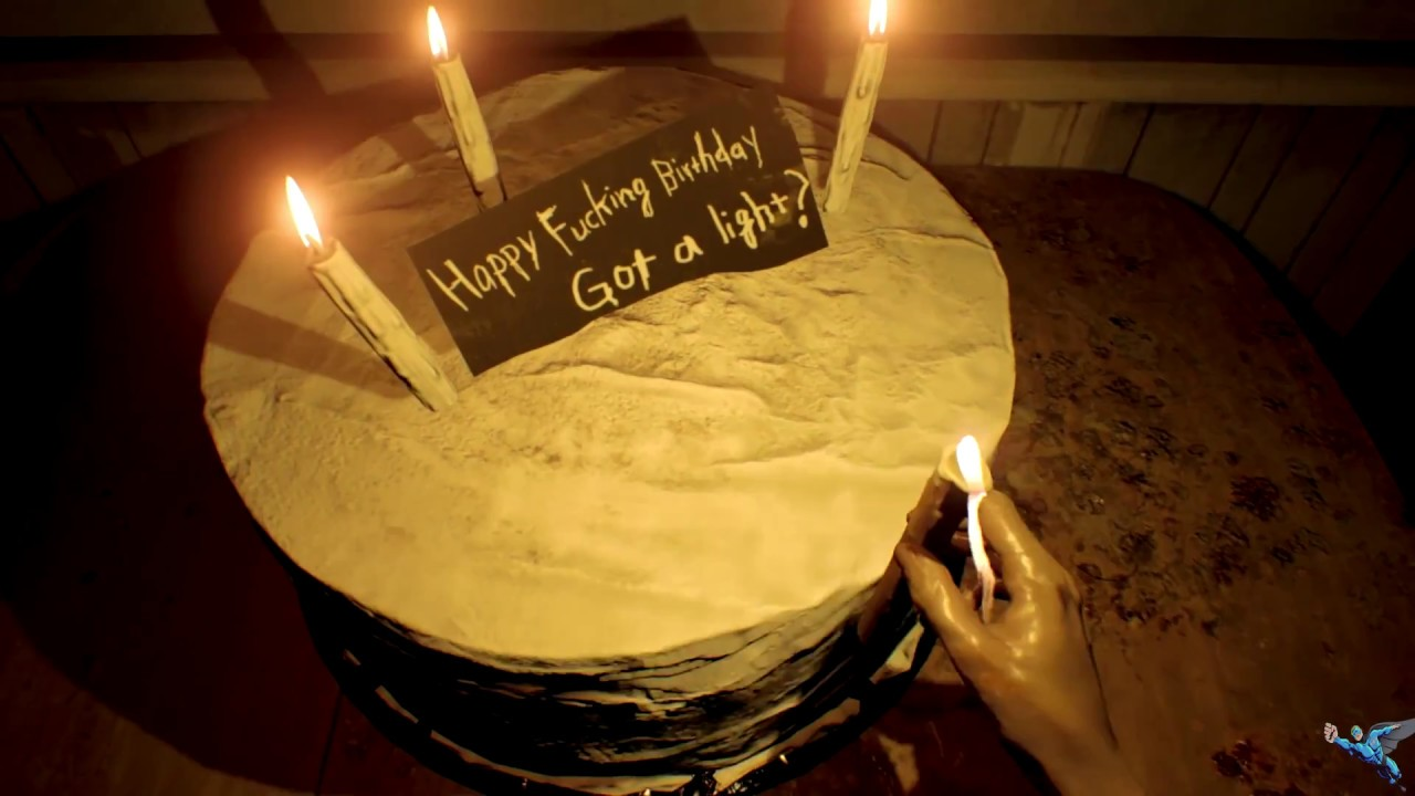 The Birthday Cake In Resident Evil