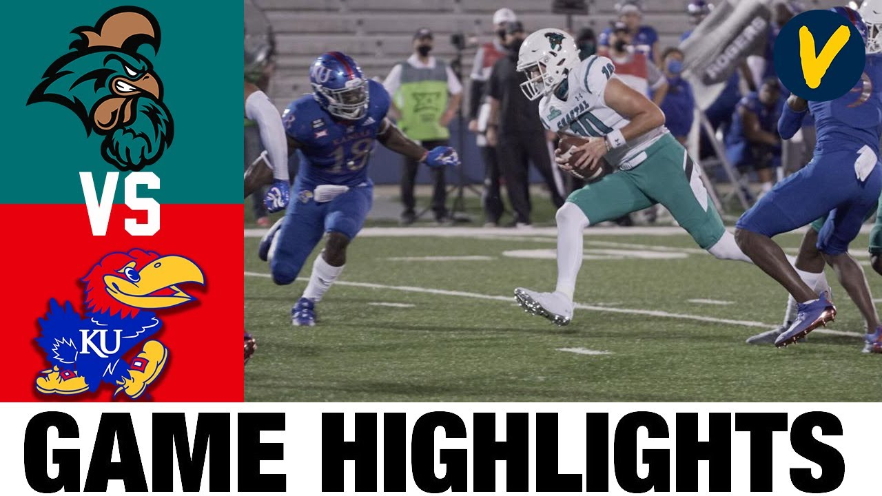 Coastal Carolina vs Kansas Highlights | Week 2 College Football Highlights | 2020 College Football