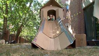 Cardboard Playhouse | Design Squad