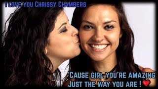 You are amazing Chrissy Chambers!