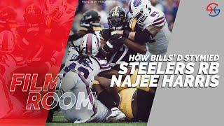 Buffalo Bills' Defense Stymied Steelers RB Najee Harris