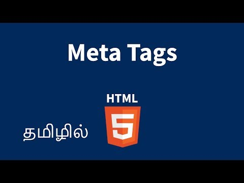 HTML Meta Tags Explained In Tamil