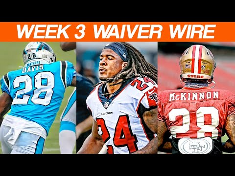 Waiver Wire Adds Week 3 Fantasy Football 2020