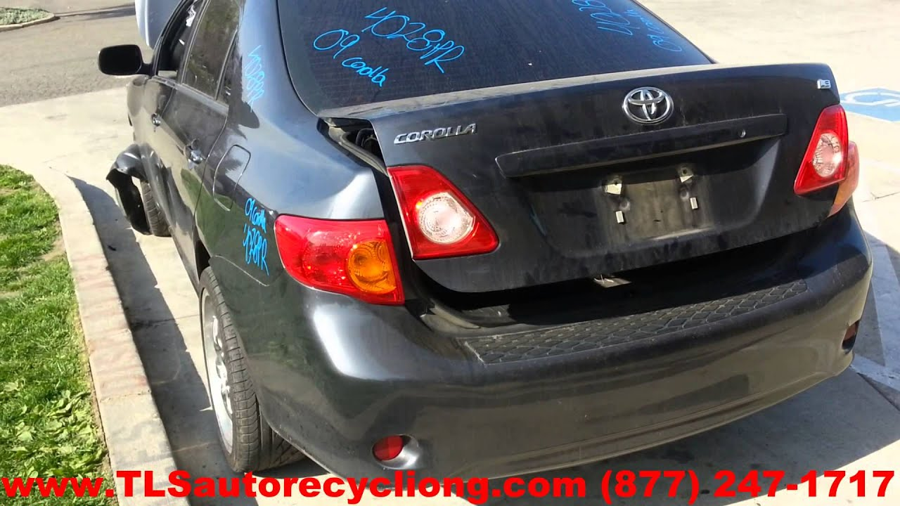 2009 Toyota Corolla Parts For Sale Save Upto 60 Youtube