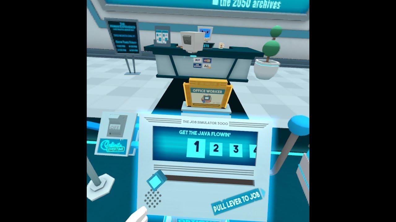 Any% Office work (7:13) | Job Simulator