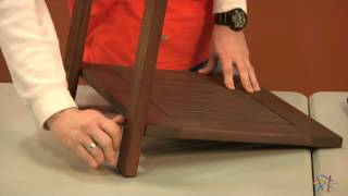 Assembly Video - Cabos Collection End Table