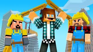 NOVOS TRABALHADORES !! - Minecraft Cidade #03
